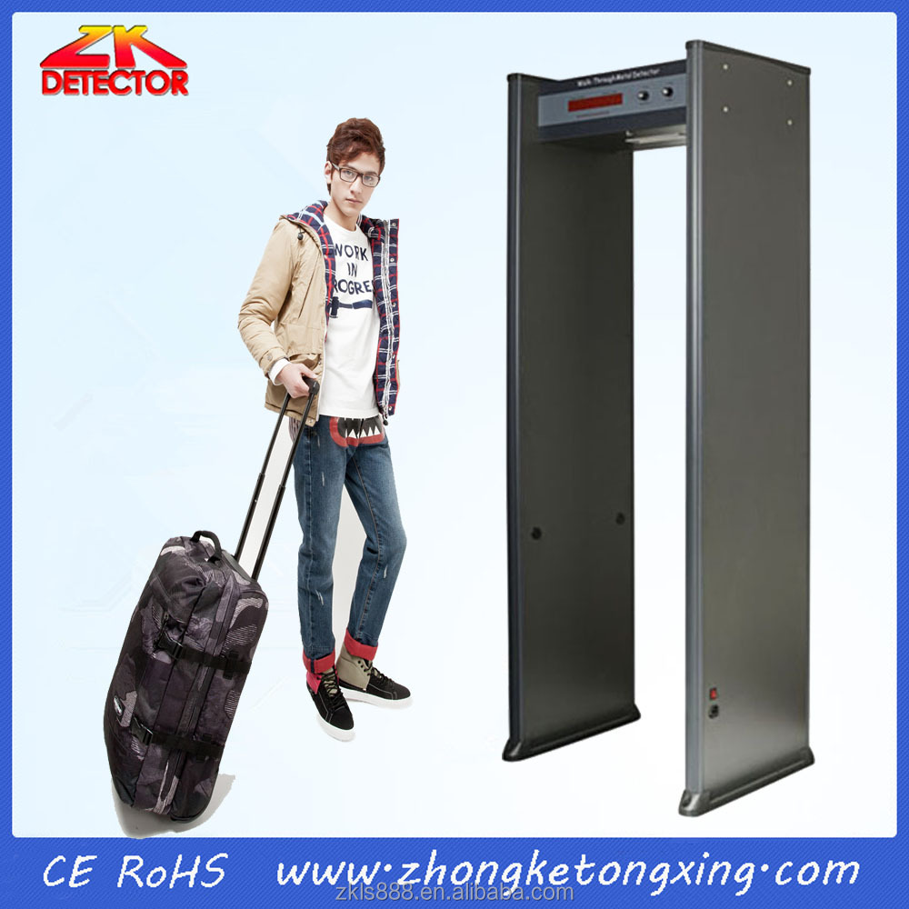 Cheap Walk Through Metal Detector ZK801A for sale