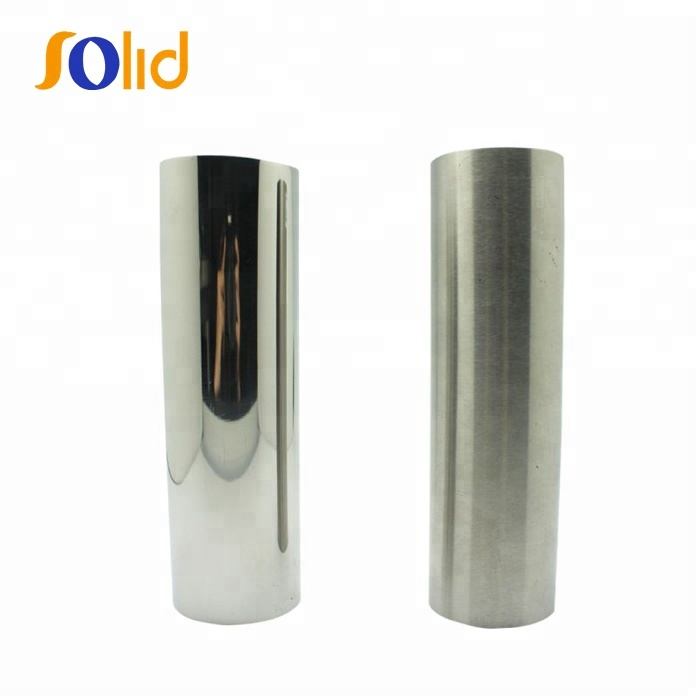 Mirror Polished Ornamental 201 304 316 430 Stainless Steel Pipe