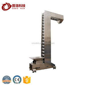 Stainless steel variable speed Z type bucket conveyor elevator