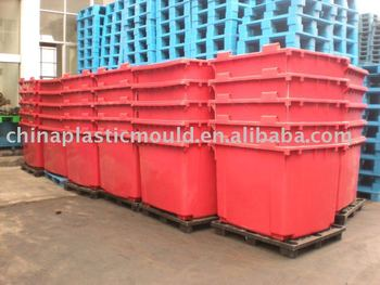 1100l Mgb,1100 Litre Wheelie Bin,Trash Can,Dustbin,Waste Container ...