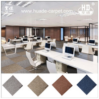 PP or Nylon Soundproof Floor Carpet Tiles 12X12 with Commercial Design