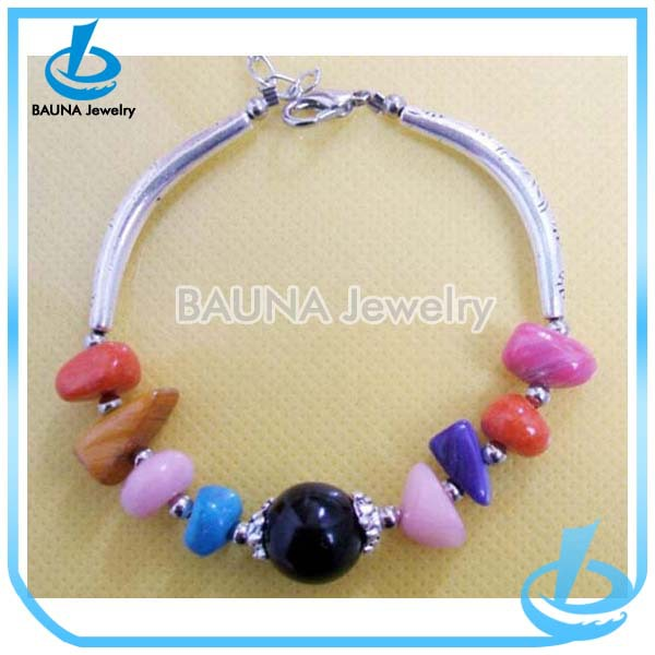 2014 new arrive colorful real turquoise jewelry