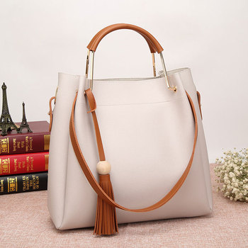 b1a3f20c61d4 Ladies Tassel Bucket Bag 2017 Trend Brand Fashion Handbag Ladies Bags  Handbag Set - Buy Trend Brand Handbag,2017 Fashion Handbag,Ladies Bags  Handbag ...