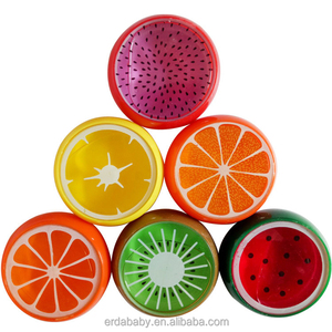 Fruit Magnetic Color polymer Clay slime Mud Kids transparent Crystal slime putty Intelligent Hand Gum toys Plasticine Playdough