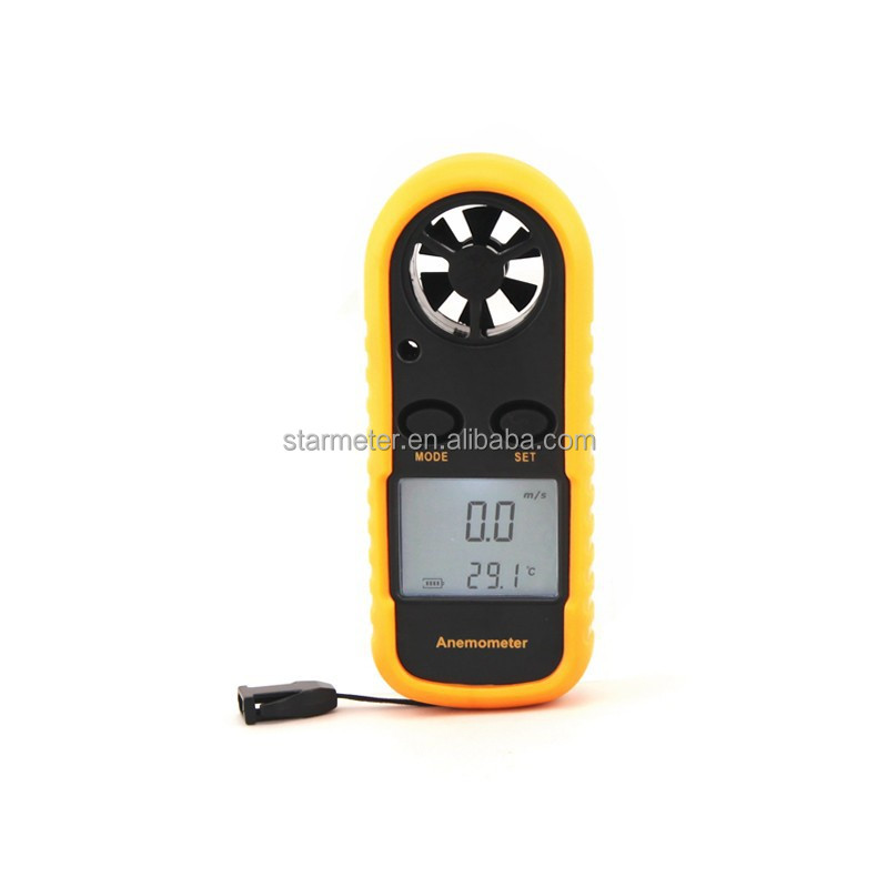 GM816 Portable Air Velocity Anemometer Wind Measuring
