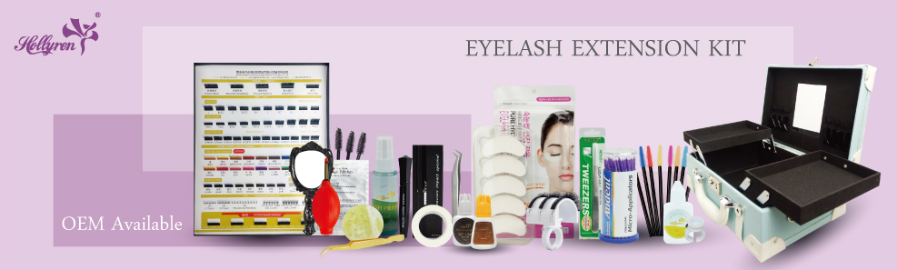 Easy work for beauty technician lash extension kit