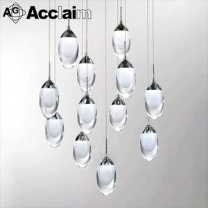 Acrylic lamp fitting acrylic pendant light accessory modern chandelier parts