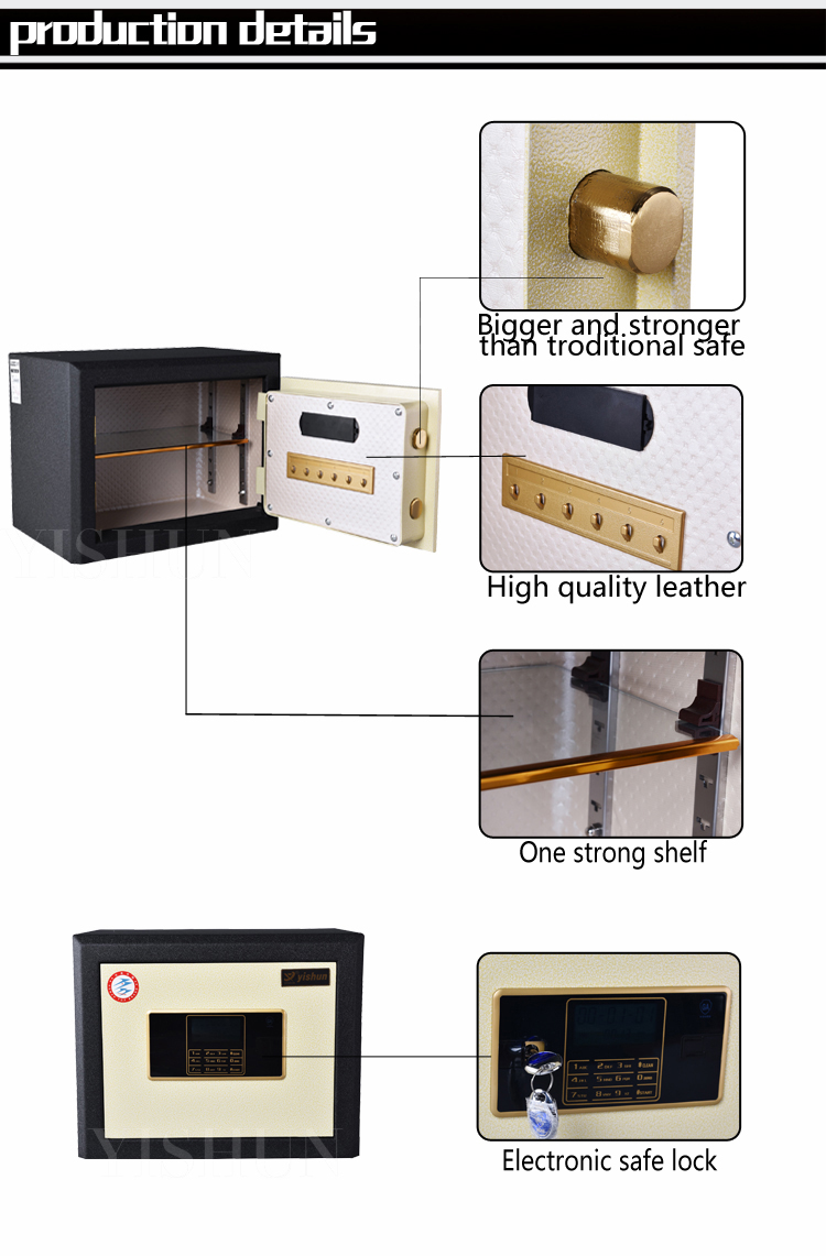 Made In China Steel Digital Electronic Mini Fireproof Timed Lock ...