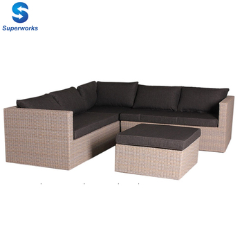synthetic rattan material garden furniture sofa set leisure garden