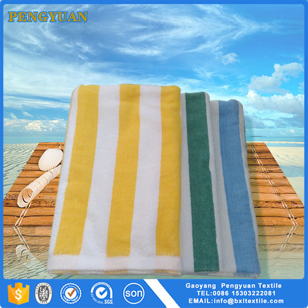 adult striped beach towels terry towelling fabric