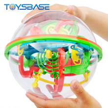 Hot Sale 138 Steps 3D IQ Puzzle Magical Intellect Game Ball 3d Maze