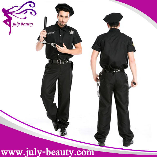 New York Cop Police Officer Mens halloween costume adult Policeman Outfit cosplay