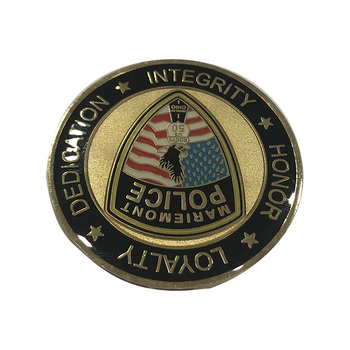 Gold Plating Custom Army Challenge Coins / Law Enforcement Challenge Coins  No Minimum - Buy Medal,Metal Medal,Coin Product on Alibaba com