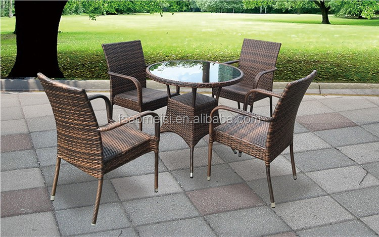 furniture outdoor rattan wicker restaurant outdoor furniture cheap