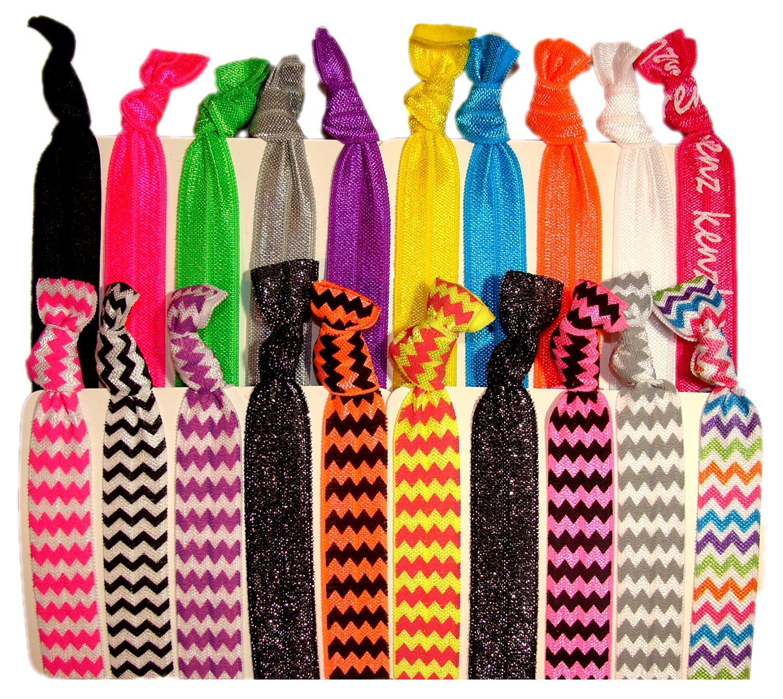 Hair Ties Ponytail Holders - 20 Pack