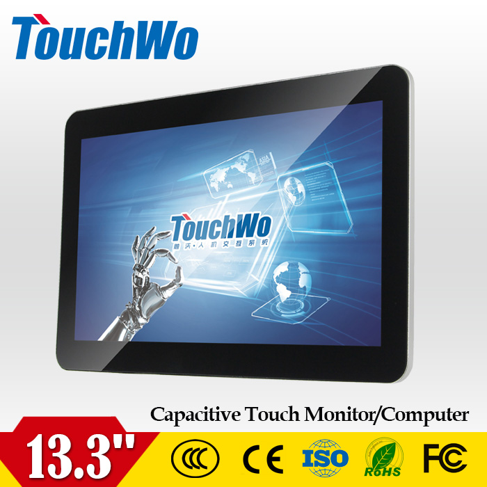 Wholesale 1920x1080 full hd capacitive touch screen monitor suppliers