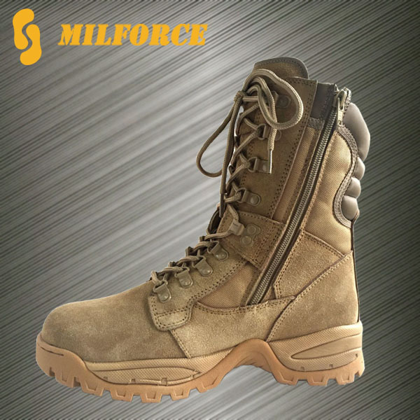 newly designed cheap beige wholesale swat desert boots