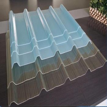 Frp Lembar Atap Transparan Clear Polycarbonate