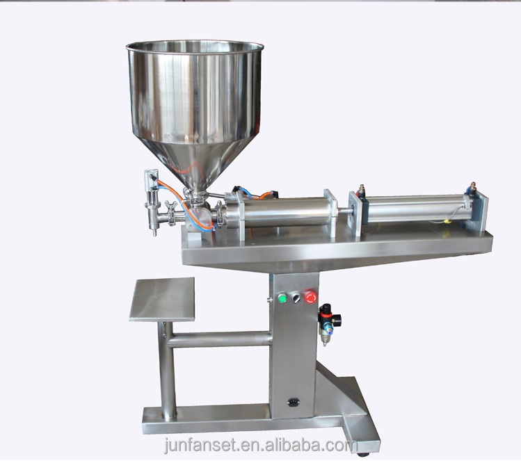 G1WY Floor-type pneumatic paste filling machine Semi-Automatic filling machine