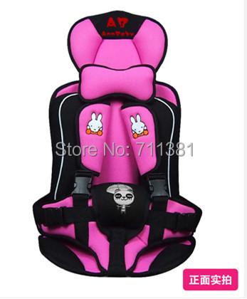 Дети младенцы стул в автомобиль 4 цвета младенческой автокресло портативная розовый / синий младенцы автокресла для 9 месяцев до 4 летний