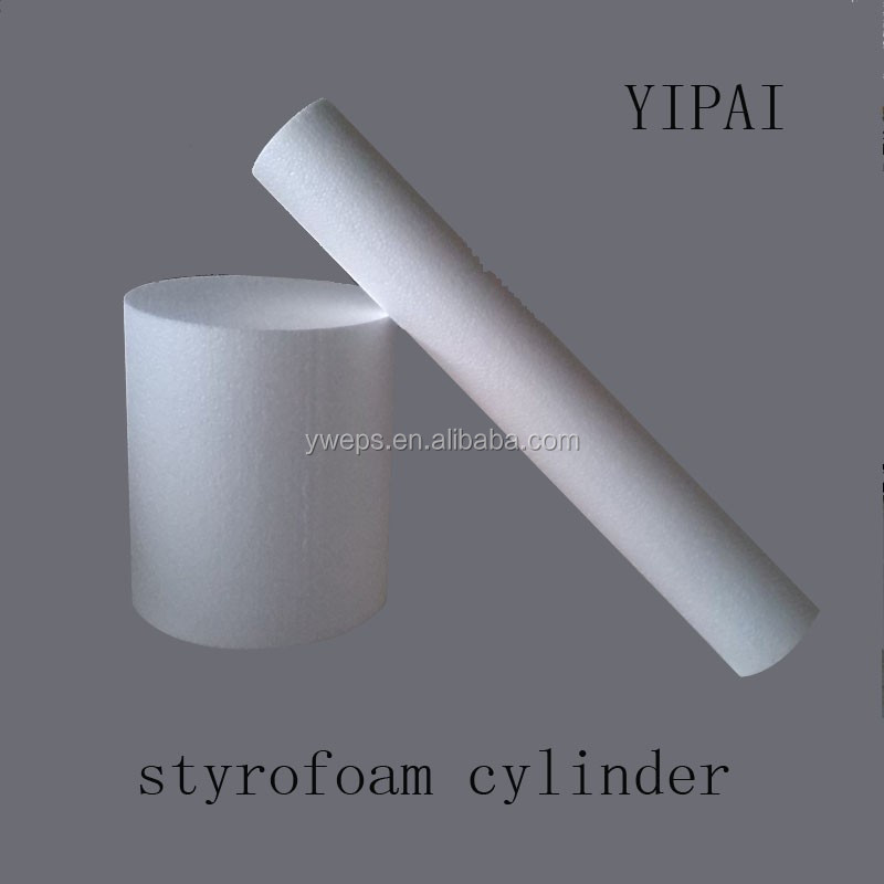 polystyrene craft foam roll
