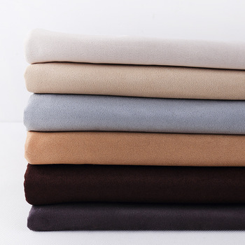 100% Polyester BSCI certification thick faux suede curtain fabric,material color custom curtain upholstery fabric