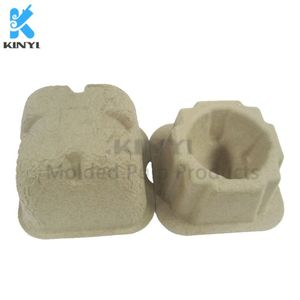 Custom Paper Pulp Molded One Piece Egg Packaging Box,Tray