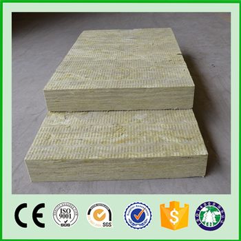 Rock wool fiberglass wool board insulation with ce iso for Mineral wool board insulation price