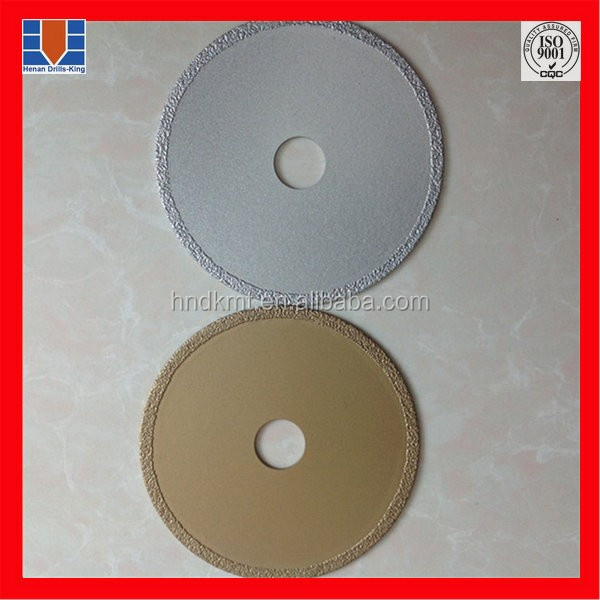 Steel tube reinforced concrete cutting saw blade