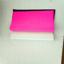 Soft Waterproof 2mm Neoprene rubber sheet coated fabric for Breathable