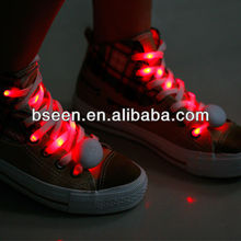 2014 New year gifts for kids soft led polyester shoelace