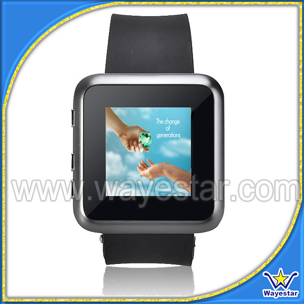 Cheap price J3 Hand Watch Mobile Phone with Camera