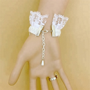 b4ffad117ea8 lace slave bracelet ring, rings and bracelets attached
