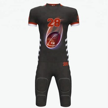 Senior american cheap oem full dye sublimation print breathable professional football jersey set