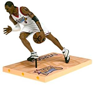 72c654f74e68 Get Quotations · McFarlane Toys NBA Sports Picks Series 1 Allen Iverson  Action Figure
