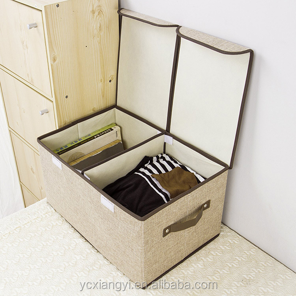 Eco-friendly Home Clothes, Quilt, T-Shirt, Pants Storage Box; Foldable Wardrobe Storage Box