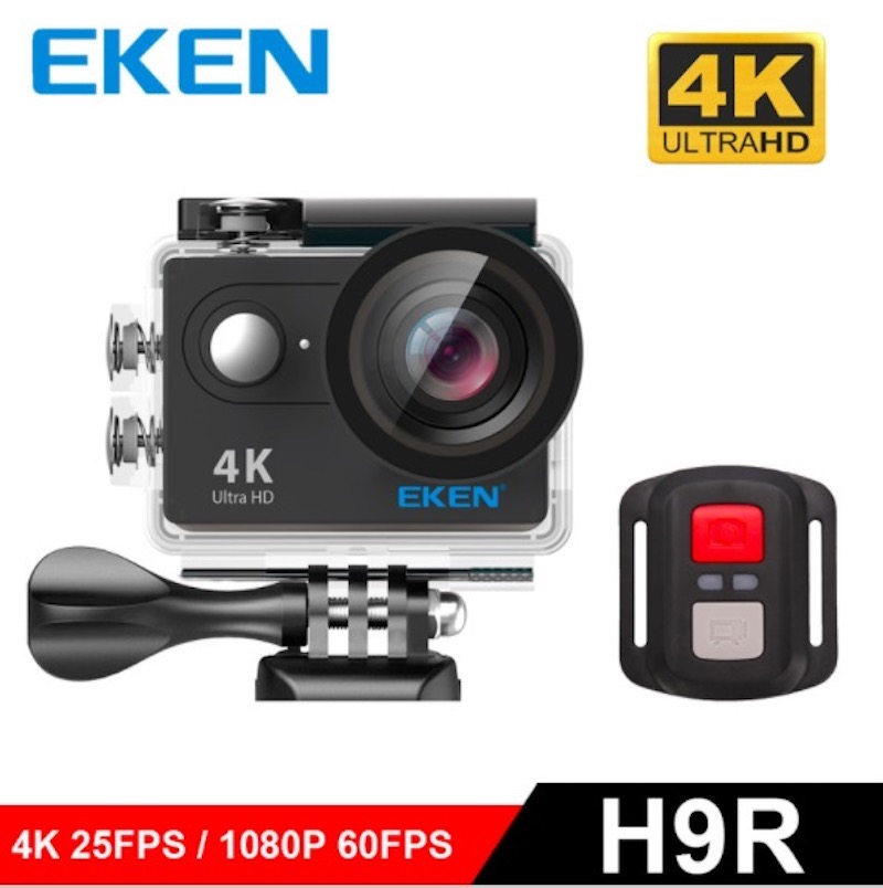 2017 eken h9 h9r original 4k action camera waterproof hidden camera eken h9r 4k sport camera. Black Bedroom Furniture Sets. Home Design Ideas