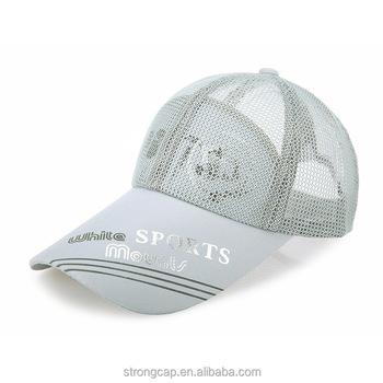 b4dbb3c78 Nylon Sports Cap Custom Blank Full Mesh Baseball Cap All Mesh Trucker Hat  With Soft Brim - Buy Blank Full Mesh Baseball Cap,Full Mesh Baseball  Cap,All ...