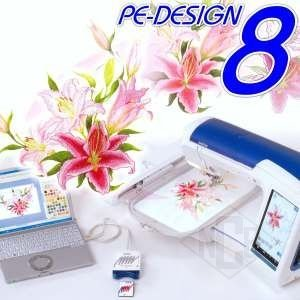Brother Pe Design Version 8 0 Buy Embroidery Software Product On Alibaba Com