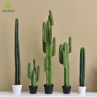 Artificial Large Cactus Home Decor Indoor Plants Plastic Cacti Plants Artificial Cactus for Decoration