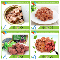 Wet pet food for dog and cat