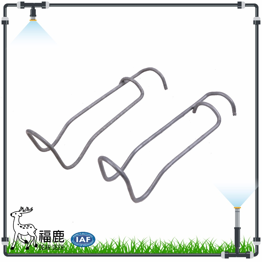 Spring Clip of Steel Pipe galvanized steel frame greenhouse frame parts