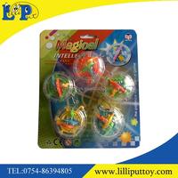 2016 Educational mini magical intelligence labyrinth ball game toy key chain