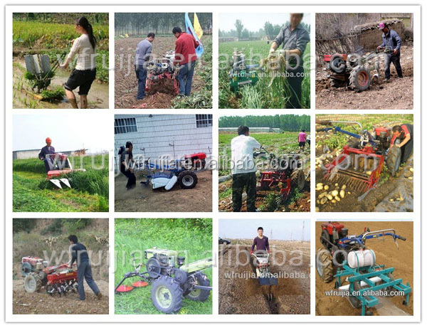 China Tractor Implements For Sale! Diesle Walking Tractors With ...