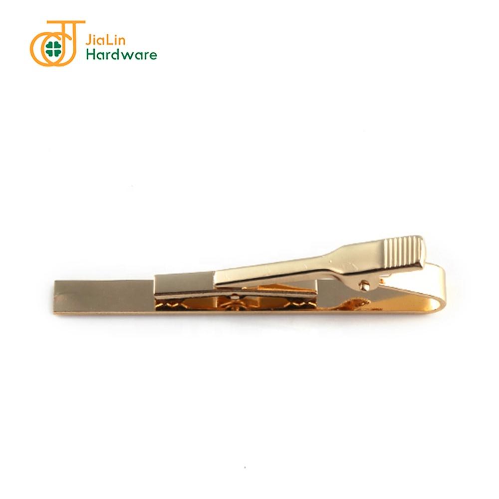 Wholesale simple blank pattern tie bar tie clip