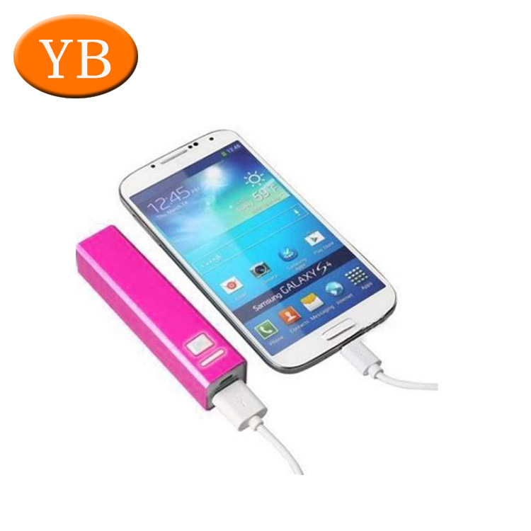 Long Battery Aluminum Metal Power Bank Cover For Mobilephone/Ipad