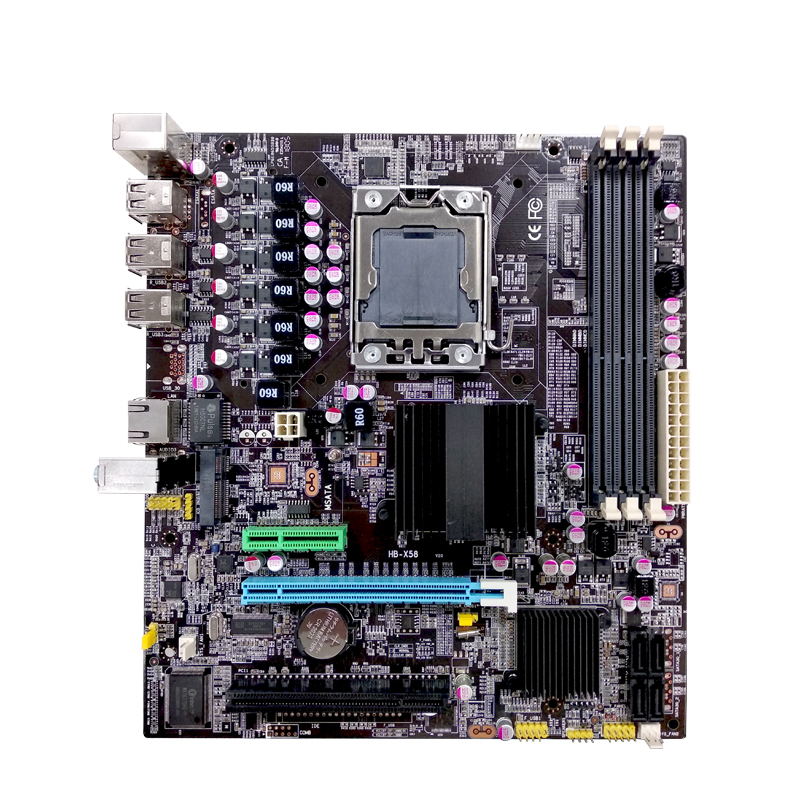 Cheap Price X58+ich Chipset Lga1366 X58 Not Second Hand Motherboards - Buy  Second Hand Motherboards,Motherboard Scrap,Ddr3 Ram Supported Motherboard