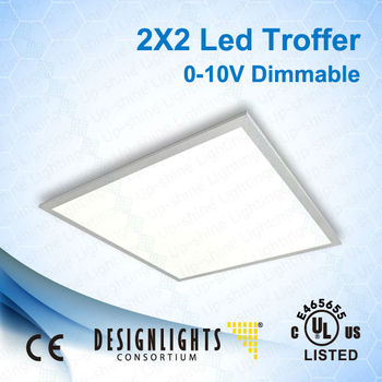 Edge-lit Led Flat Panel 2x2 603*603 50w Recessed Ul Cul Energy ...