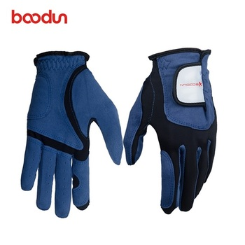 Boodun Fashion Best selling golf  leather manufacturer gloves