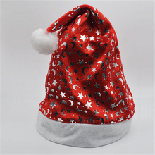 2016 Fashion christmas decor, 30 cm adults/kids christmas hat, party hat for promotion